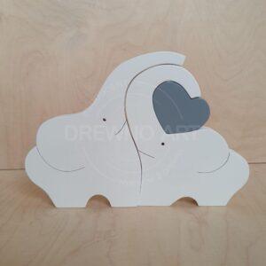 Białe słonie z szarym sercem